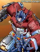 optimus by chaoticmind