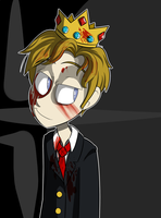 Achievement Hunter- Mad King Ryan by cottoncandyskeleton