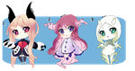 Adoptable auction (#25)- CLOSED [Halloween themes] by Natsuba