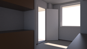 Apartment WIP 4 by eviloatmeal