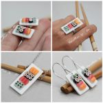 Miniature Sushi Jewelry by PetitPlat