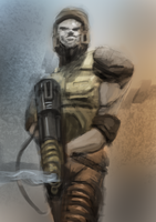 Quake Ranger Speedpaint by Helios437