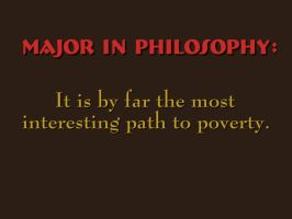 Major in Philosophy by JRigh