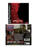 Silent Hill 1 cover and logo redesign by TRice01