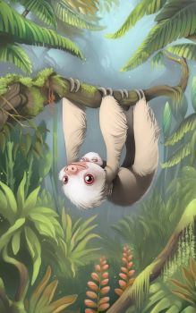 Sloth by samantharobinson