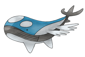 MEGA WAILORD by cscdgnpry