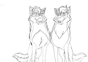 Kitara the wolfhound - sketches. 192 by MortenEng21