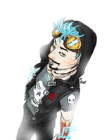 Punk Tony by Batwynn
