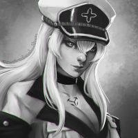 Esdeath by Sonellion