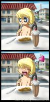 Lumiose City - Pancakes by TarriPup
