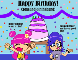 Happy Birthday Comeandjointheband! by TheBigEd787