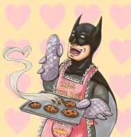 Bat-Cookies by McMitters