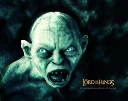 -Gollum- by vampirekingdom
