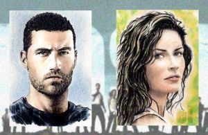 'Lost' sketchcards by whu-wei