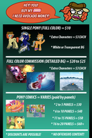 *** ANIRICHIE COMMISSION INFO *** by AniRichie-Art