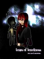 .: Tears of Loneliness :. by Dark-mystery
