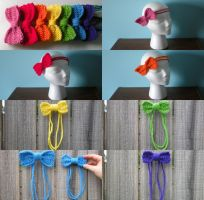 Hair Bows by pretending2bme