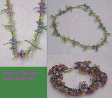Glass Lei Set by CostumesbyCait