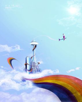 up in the sky by visioon