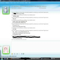 Msn Talking with nameless xD by Nuyy93
