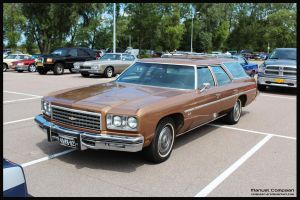 1976 Chevy Impala Stationwagon by compaan-art