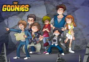 The goonies by JagoDibuja