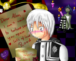 Happy Valentines Day Allen by CrispyCh0colate