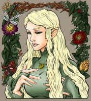 Galadriel, lilQoh's colour by Ginjirou