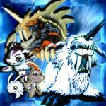 Gomamon Evolution by xLady-Mizu