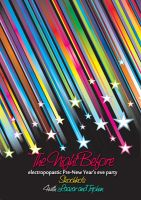 Night Before Party Poster Clean by Laazar
