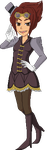 Steampunk Adopt OPEN by Ash-Ad0pts