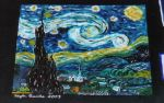 My Version of Starry Night by Bobbie-Gurl