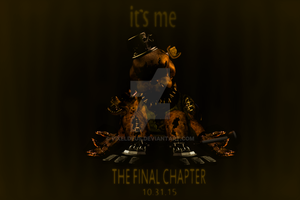 Nightmare Golden Freddy FNaF4 Teaser by PixelDeus