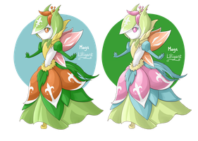 .:Contest:. Mega Lilligant by Mearii-chi
