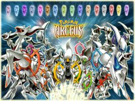 The Legend of Arceus by M0rden