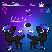 [Topaz] Ref Sheet by Mysteeria