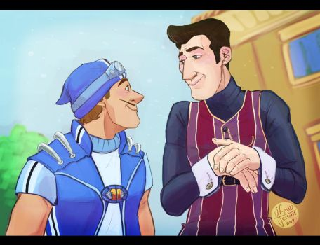 Lazy Town-Scene redraw by MadJesters1