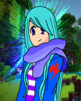 Me  Minecraft Skin Turned Into an Anime Form by YukinaKuran