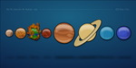 Accurate Model of the Solar System by RyanJGill