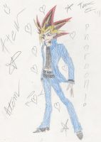 Atem's Return: For Sarahalexis13 by SupernovaSword