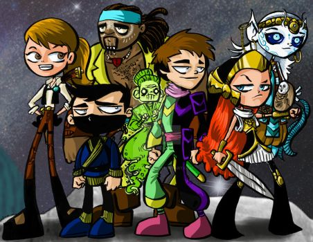 Pirates of the Kaire Bhan GO! by TonyTempest