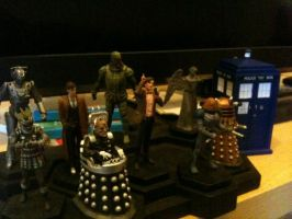 Doctor Who figurine collection 1-9 + TARDIS by Kirby-Force