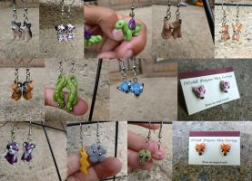 Hook Earrings, now with extra cute! by Blitzava