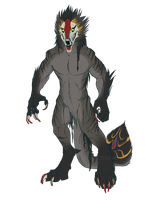 Wer-Mandrill [Body Design Contest] by Dae-Thalin