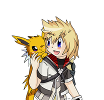 Ven + Jolteon by ExxDxx13