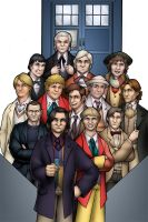 The 13 Doctors by TravisTheGeek