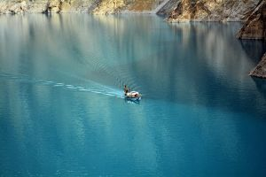 Attabad Lake - 2 by ZeeShiKing