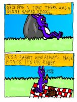 George the Bunny page 1 by Nate-Spidgewood