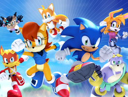 Variant - SEGA Freedom Fighters by gameboysage