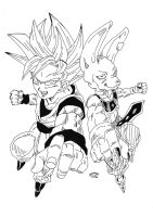 Dragonball Z Battle Of Gods - Goku and Bills by TriiGuN